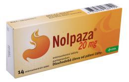 NOLPAZA 20MG enterosolventní tableta 14
