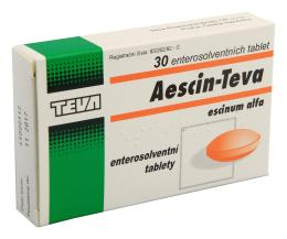 AESCIN-TEVA 20MG enterosolventní tableta 30