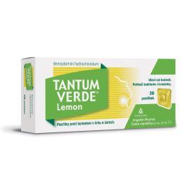 TANTUM VERDE LEMON 3MG pastilka 20