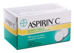 ASPIRIN C 400MG/240MG šumivá tableta 20