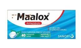 MAALOX 400MG/400MG žvýkací tableta 40