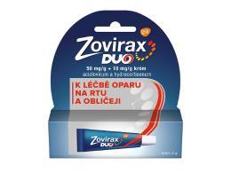 ZOVIRAX DUO 50MG/G+10MG/G krém 1X2G II