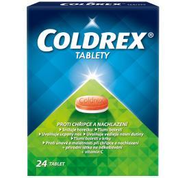 COLDREX 500MG/25MG/5MG/20MG/30MG neobalené tablety 24