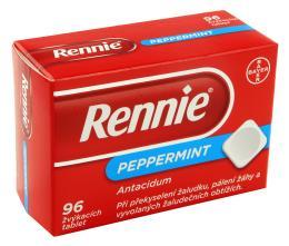 RENNIE 680MG/80MG žvýkací tableta 96