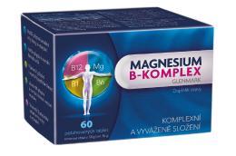 Magnesium B-komplex Glenmark 60 potah.tablet