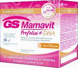 GS Mamavit Prefolin+DHA+EPA tbl/cps.30+30