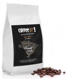 Coffee UP! Brazil Santos Čerstvě pražená 100% arabica