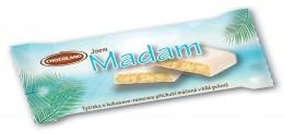 Chocoland Madam bílá tyčinka s kokosovo-rumovou příchutí