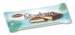 Chocoland Madam tmavá tyčinka s kokosovo-rumovou příchutí