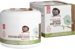 Pure Beginnings Probiotický tělový krém pro citlivou dětskou pokožku bez vůně BIO