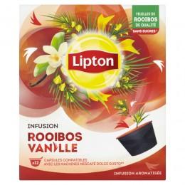 Lipton Rooibos a vanilka 12 kapslí