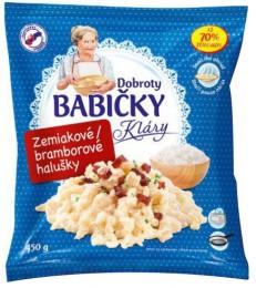 Dobroty babičky Kláry - Slovenské bramborové halušky