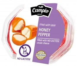 Campio Žluté papriky plněné bezlaktózovým smetanovým sýrem v řepkovém oleji