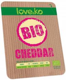 Love&ko BIO Cheddar plátky