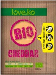 Love&ko BIO Sýr cheddar plátky