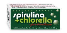 Spirulina+Chlorella+Prebiotikum tbl.90 NATURVITA