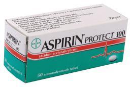 ASPIRIN PROTECT 100 100MG enterosolventní tableta 50