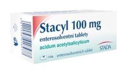 STACYL 100MG enterosolventní tableta 100 I