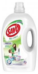 Savo Bez chlóru Universal prací gel na bílé a barevné prádlo (3,5l)