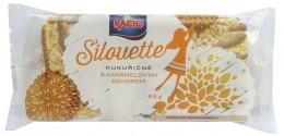 RACIO SILOUETTE kukuřičné chlebíčky s karamelovým dekorem