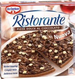 Dr. Oetker Ristorante Dolce al Cioccolato pizza čokoládová mražená