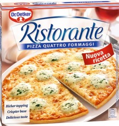Dr. Oetker Ristorante Quattro Formaggi pizza mražená