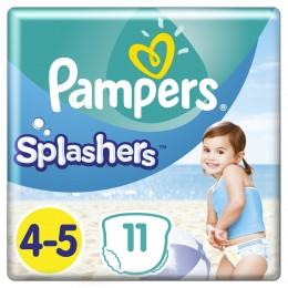 Pampers Splashers Plenkové kalhotky do vody (velikost 4-5) 11 ks