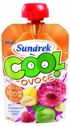 Sunárek Cool ovoce Malina, Banán, Jablko