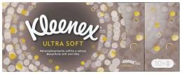 Kleenex Ultra Soft papírové kapesníky 4vrstvé 10x9ks