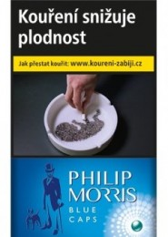 Philip Morris Blue Caps