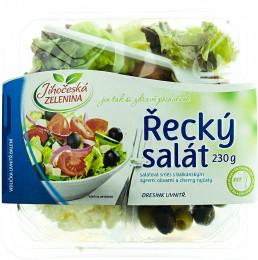 Jihočeská zelenina Salát řecký s hořčicovým dresinkem