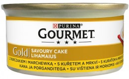 Gourmet Gold Savoury Cake s kuřetem a mrkví
