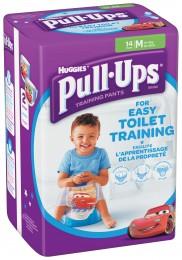 Huggies Pull Ups M trénikové plenky pro chlapce 11-18kg (14ks)