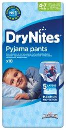 Huggies Dry Nites Medium plenky na noc pro chlapce 17-30 kg (10ks)