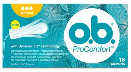 o.b. ProComfort tampony normal tampony 16ks