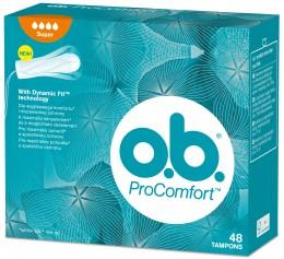 o.b. ProComfort tampony super 48ks