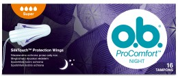 o.b. ProComfort tampony night super 16ks