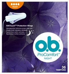 o.b. ProComfort tampony night super 36ks