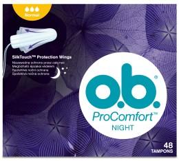 o.b. ProComfort tampony night normal 48ks