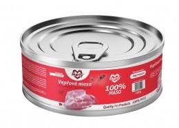 Marty konzerva pro psy 100% maso - Monoprotein vepřové