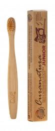 Curanatura Junior ultra soft bambusový zubní kartáček