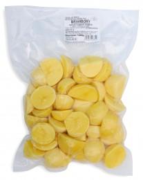 Brambory loupané krájené 1kg