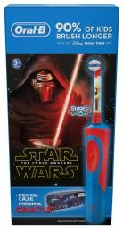 Oral-B Stages Kids Elektrický Zubní Kartáček SMotivem Star Wars + Penál