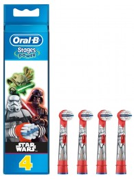 Oral-B Stages Kartáčkové Hlavice S Disney Star Wars 4ks