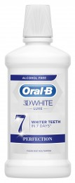 Oral-B 3D White Luxe Perfection Ústní Voda