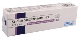 Calcium pantothenicum mast Generica 30g