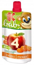 Kubík baby kapsička jablko-mrkev