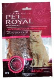 Pet Royal krájená kuřecí a kachní prsa pro kočky