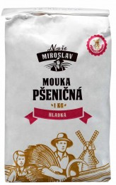 Naše Miroslav Mouka pšeničná hladká z červené pšenice 1kg