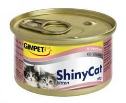Gimpet ShinyCat kuřecí konzerva pro koťata